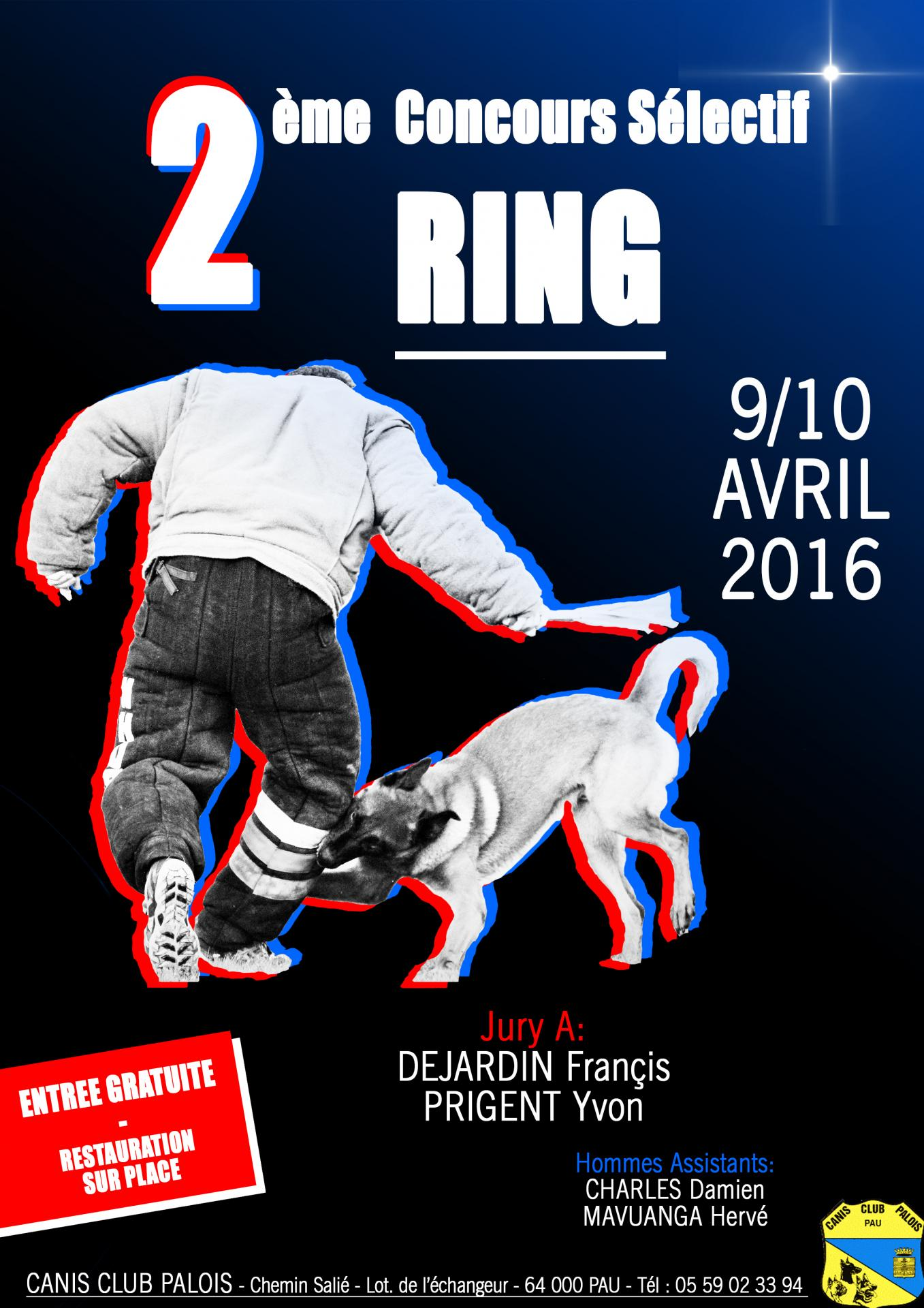 Affiche ring 2 a4